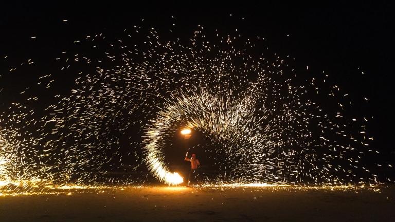 Ko Samui fire show