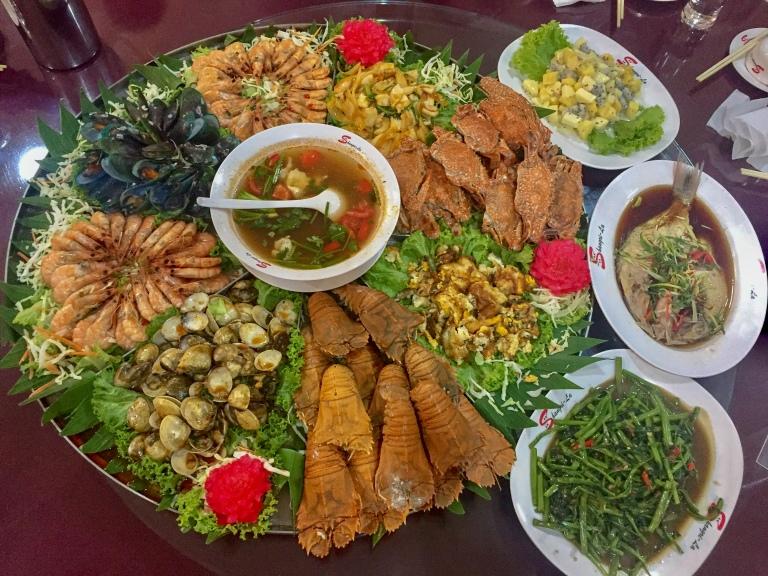 Thai Seafood dinner