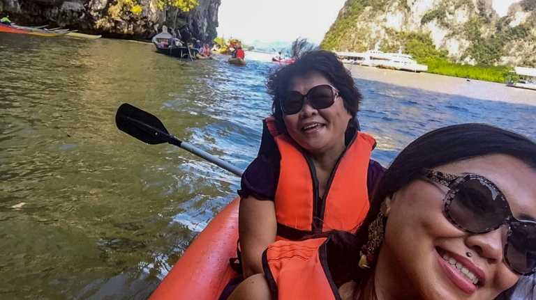Raya Island kayake