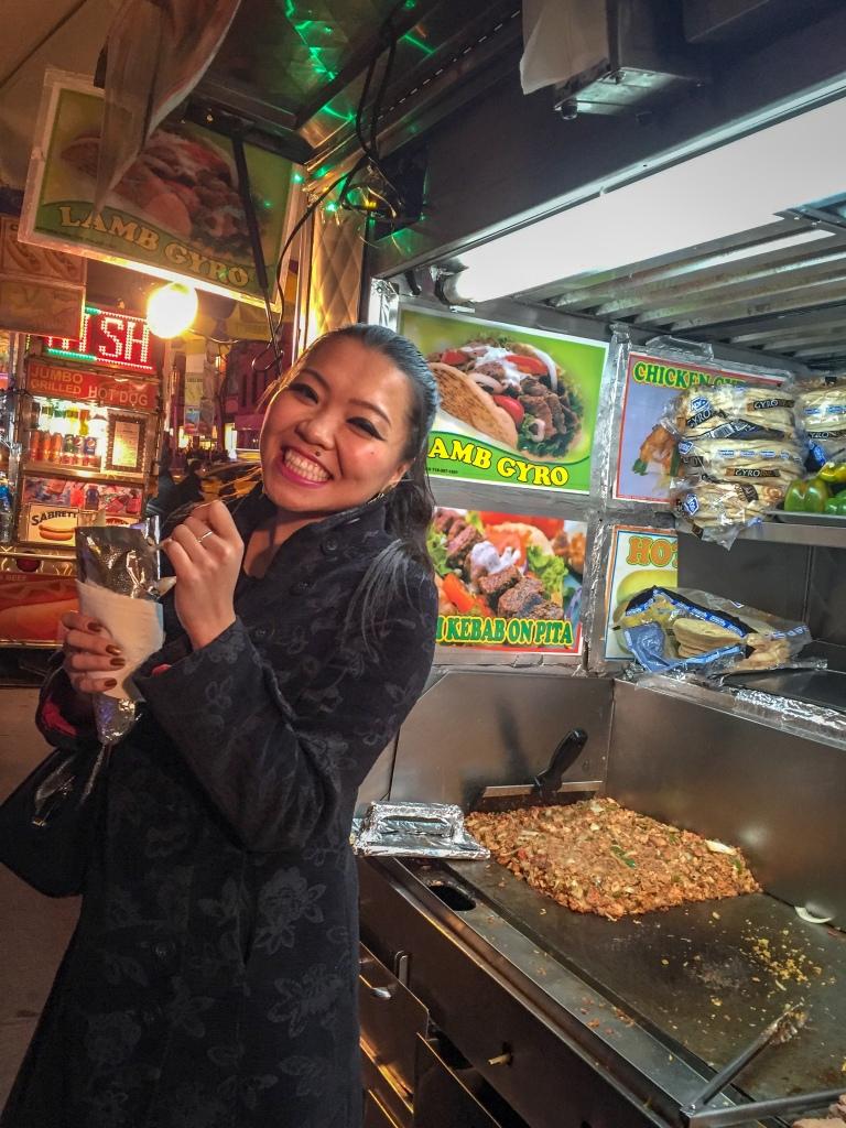 falafel truck NYC