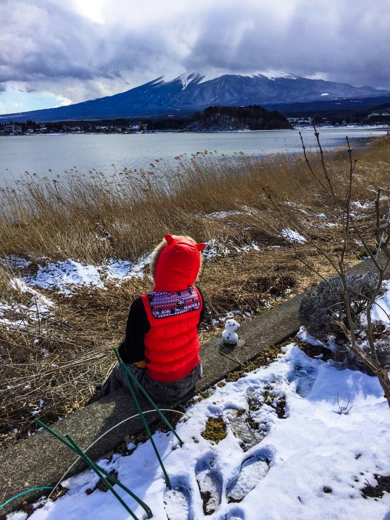 Mt Fuji in Snow