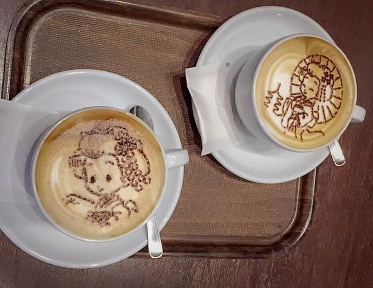 Japanese latte