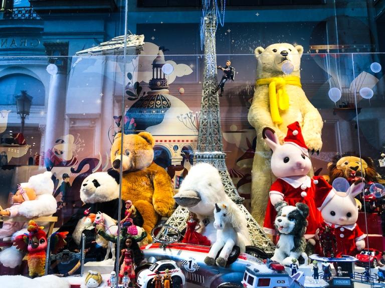 Galeries Lafayette window